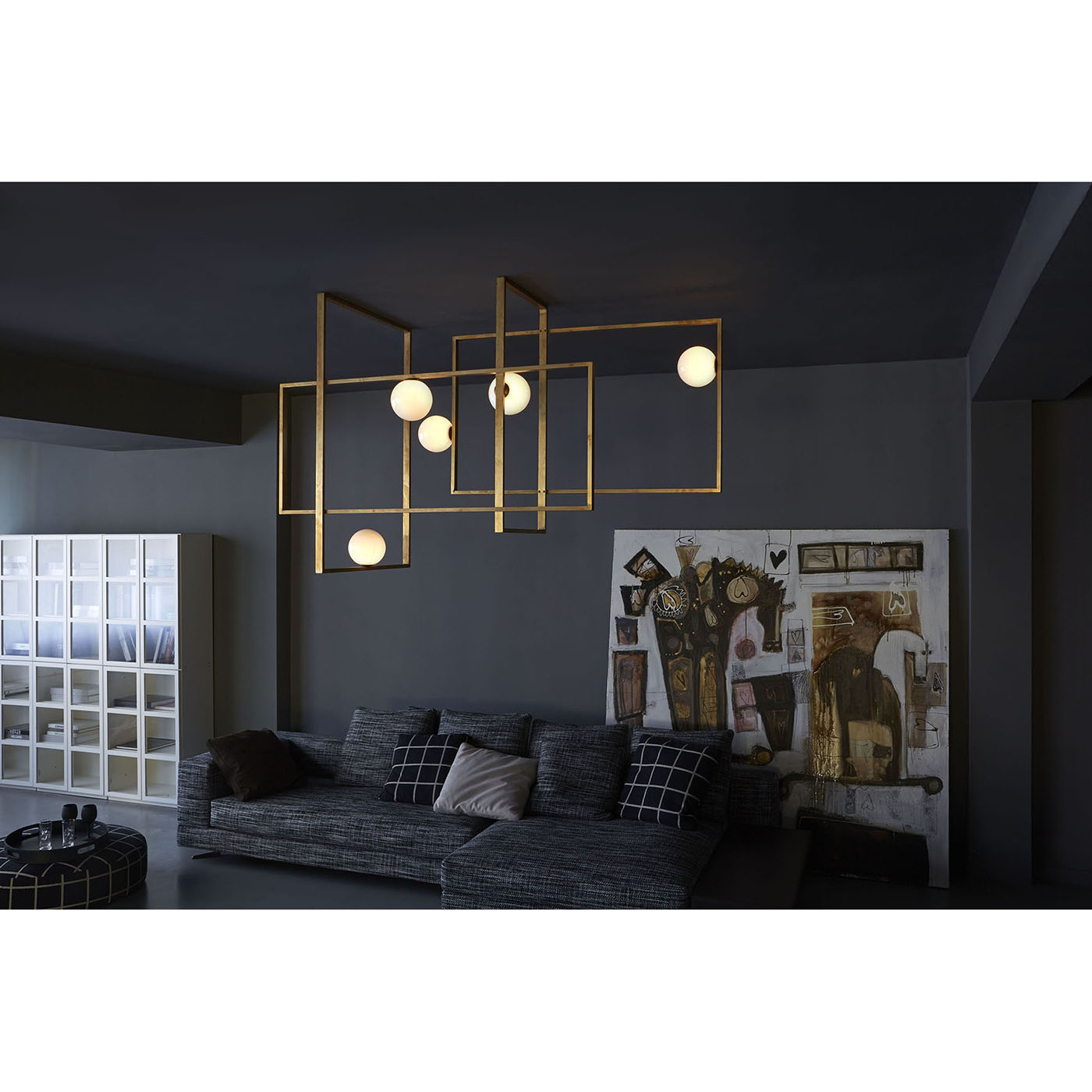 luminaire suspension haut de gamme mondrian idkrea collection. Black Bedroom Furniture Sets. Home Design Ideas