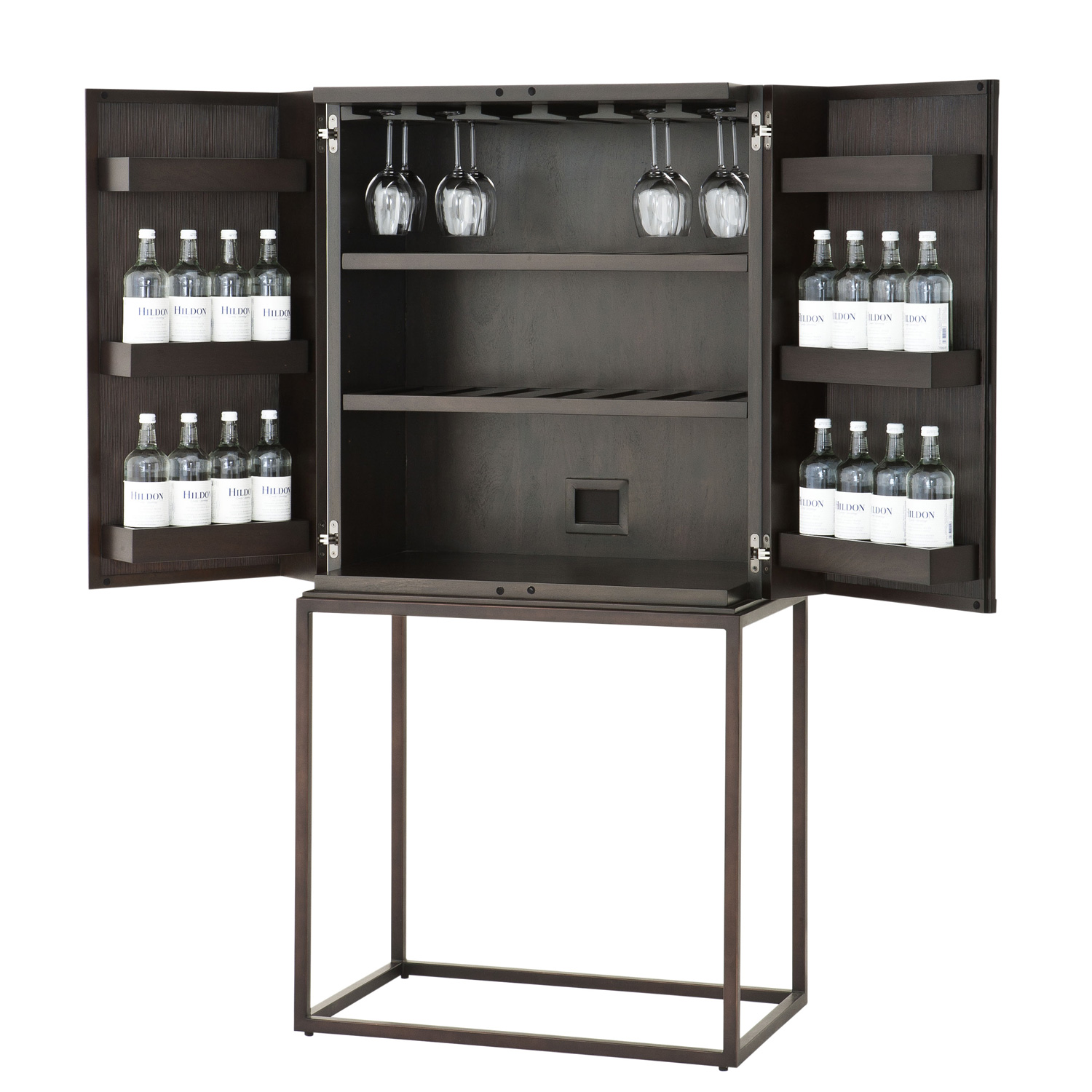 Wine cabinet Delarenta - armoire à vin exclusive - IDKREA Collection du mobilier d'exception