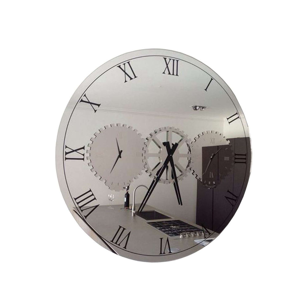 horloge design miroir d co de luxe idkrea collection rennes