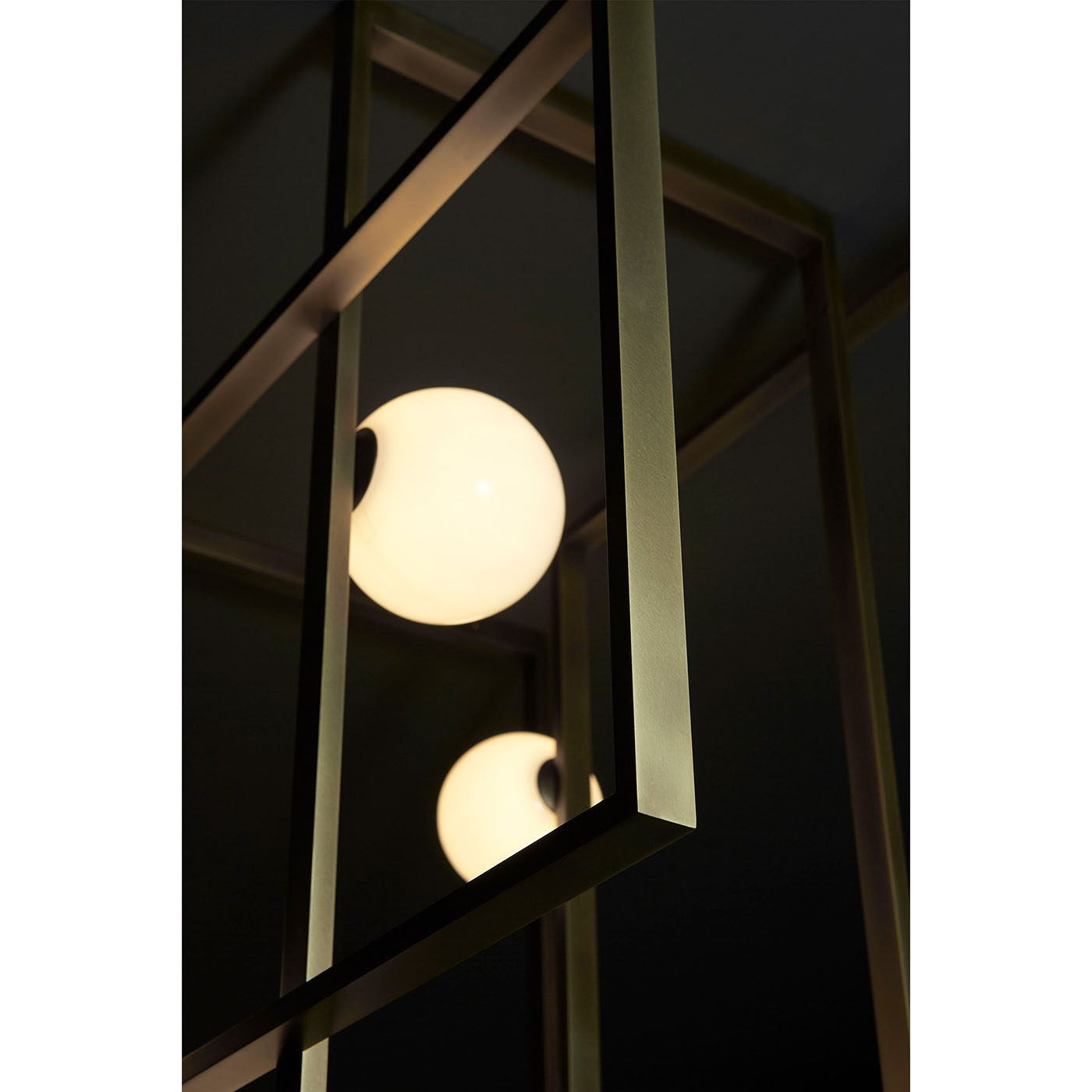 Suspension luminaire de luxe Mondrian, design italien - IDKREA Collection