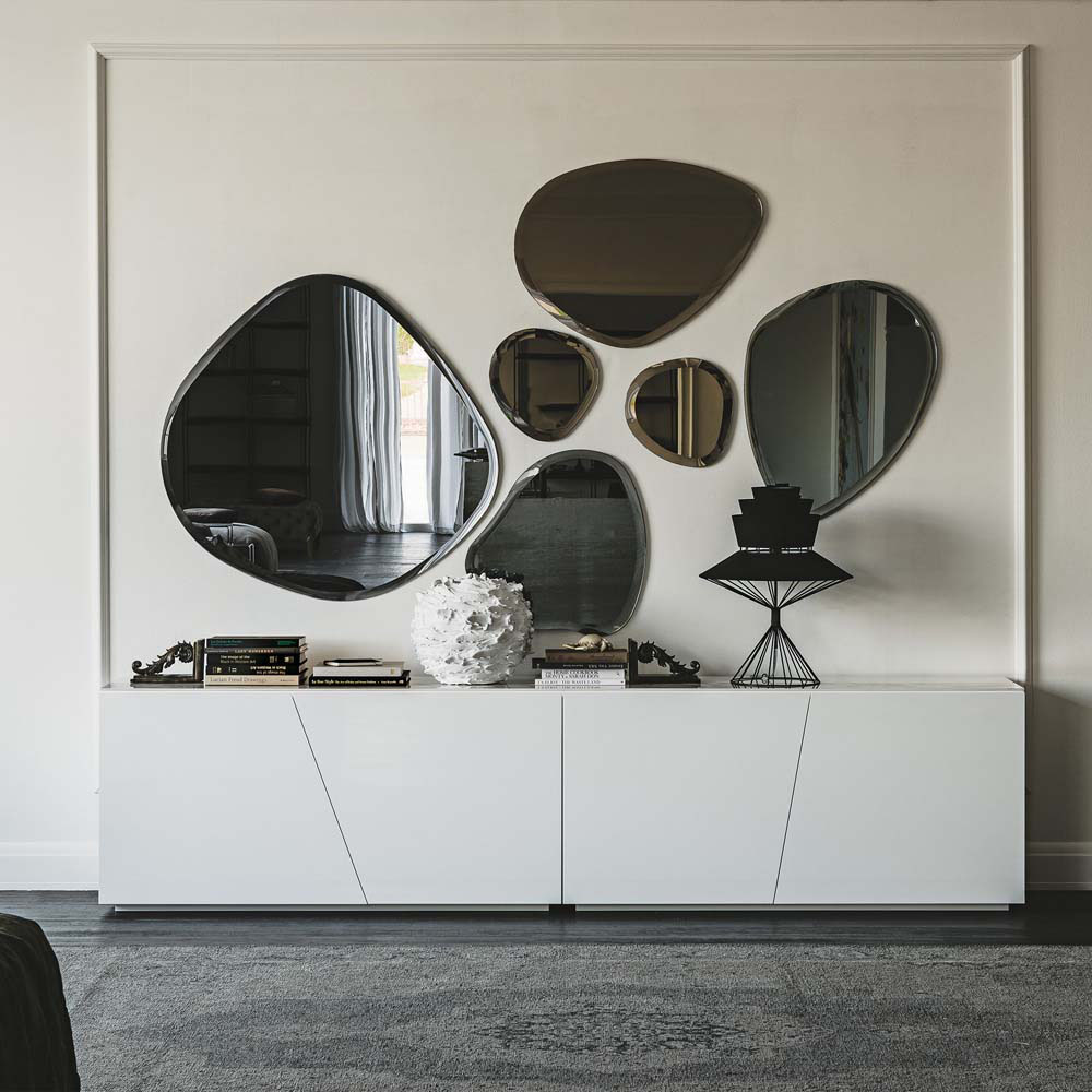 miroir design mural goutte idkrea collection - Miroir Design