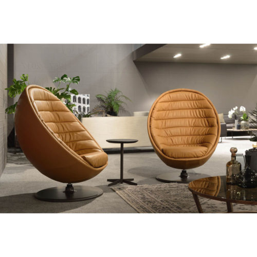 Fauteuil design pivotant Cocoon - IDKREA Collection, Rennes