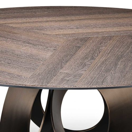 Table a manger Cercle - Mobilier design IDKREA Collection, Rennes