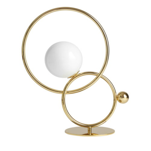 lampe et lampadaire cercles entrelaces IDKREA Collection Rennes 1