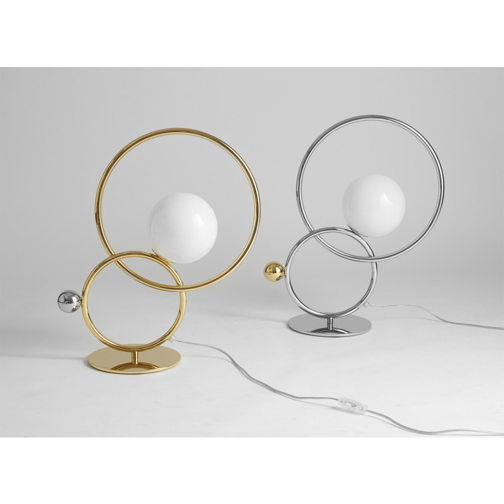 lampe et lampadaire cercles entrelaces IDKREA Collection Rennes 2
