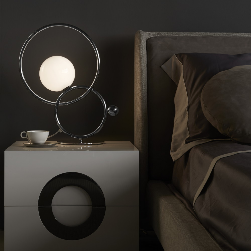 lampe et lampadaire cercles entrelaces IDKREA Collection Rennes 4