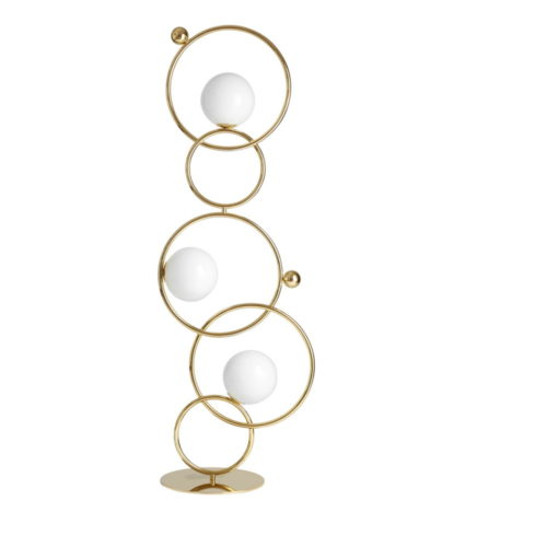 lampe et lampadaire cercles entrelaces IDKREA Collection Rennes 5