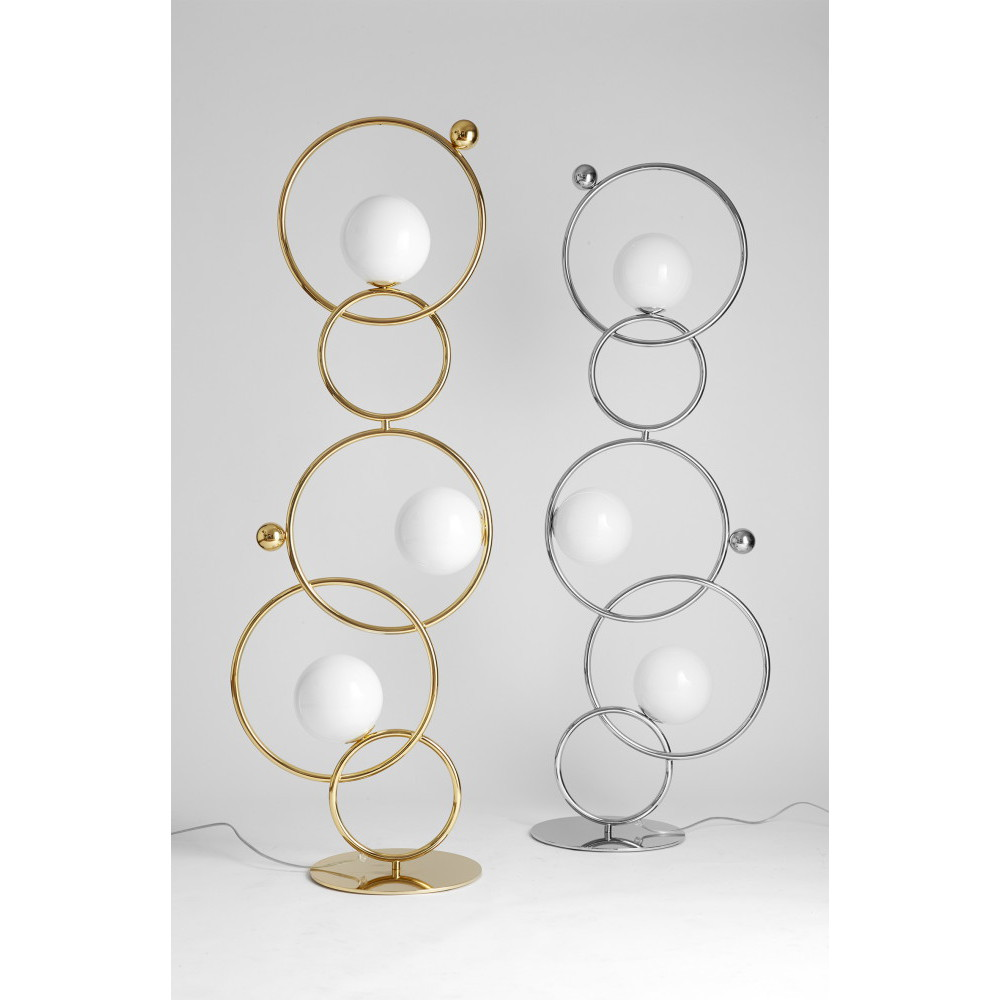 lampe et lampadaire cercles entrelaces IDKREA Collection Rennes 6